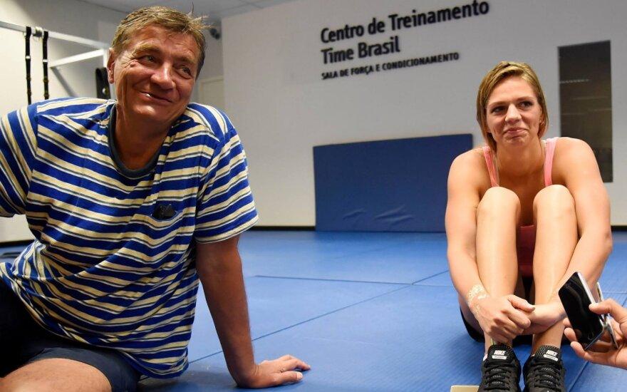 J. Jefimovos agentas įsitikinęs tuo, ko bijo J. Ruddas: rusė plauks Rio