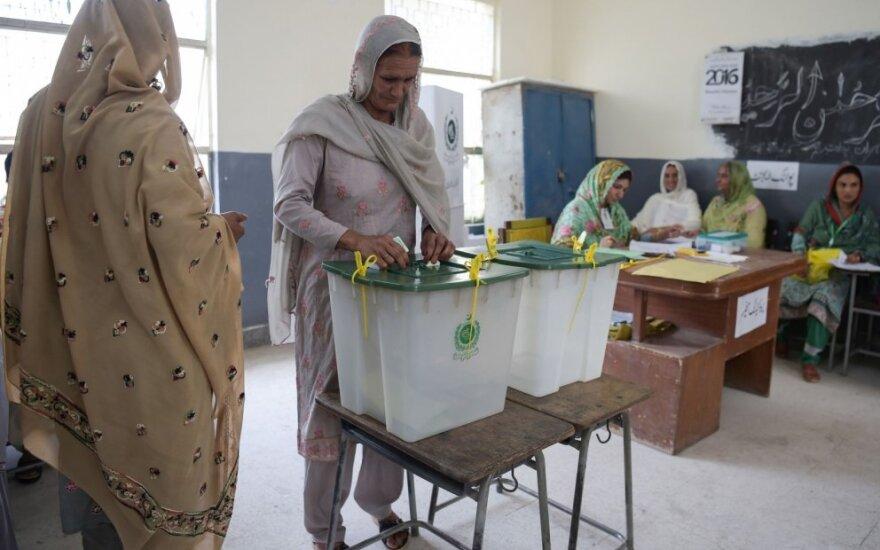 Rinkimai Pakistane