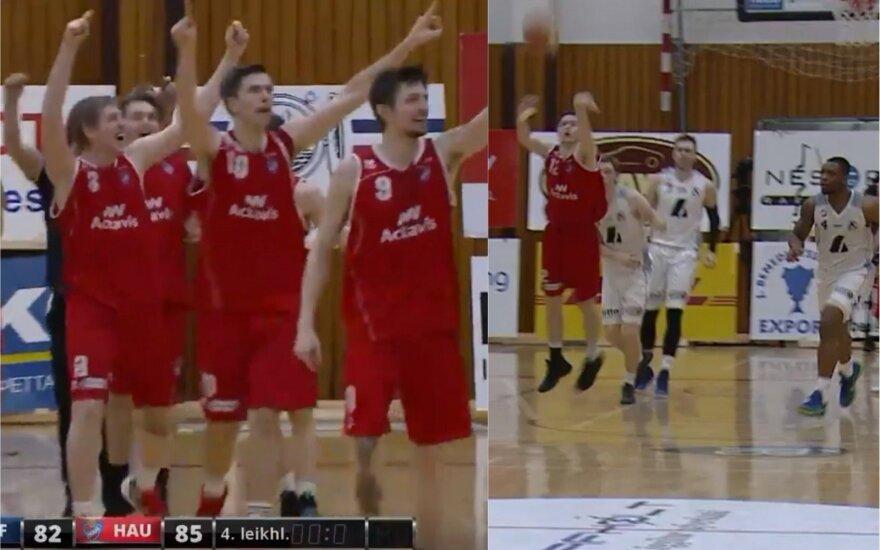 Dramatiškas krepšinis Islandijoje