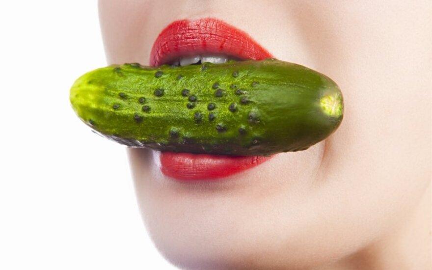 Valgyk agurkus ir lieknėk