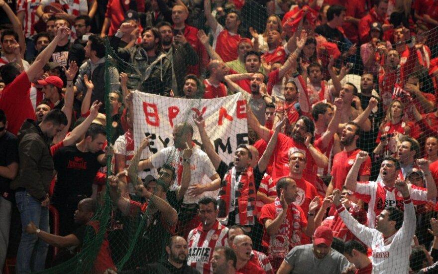 "Pirėjo ""Olympiakos"" klubo fanai"