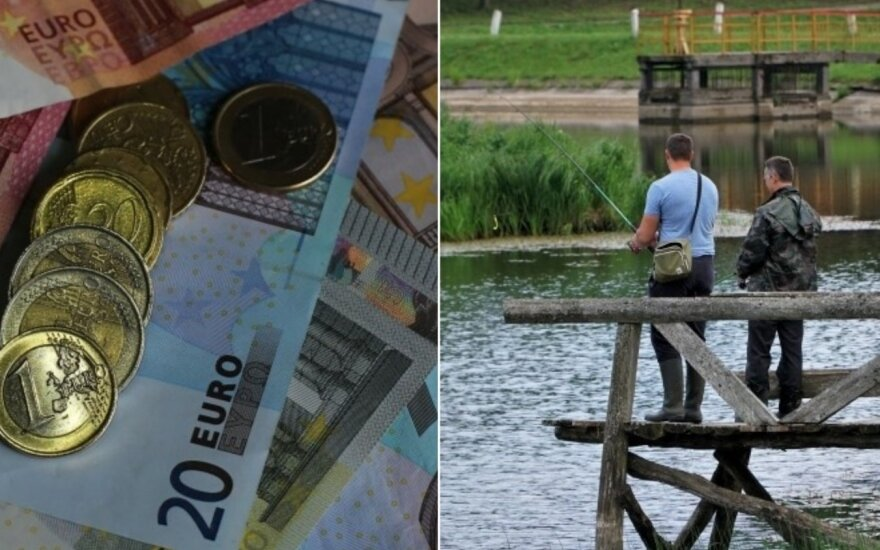 Tiesa ar melas? Žvejai mėgėjai į valstybės biudžetą įnešė dešimt kartų didesnę sumą nei žvejai verslininkai