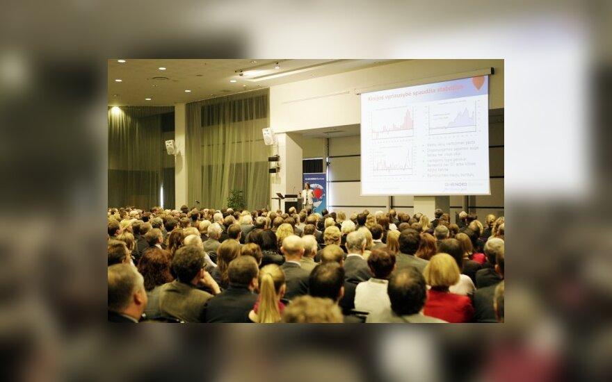 """""""DnB Nord"""": Lietuvos ekonomikos augimas atsiliks nuo lyderių"""