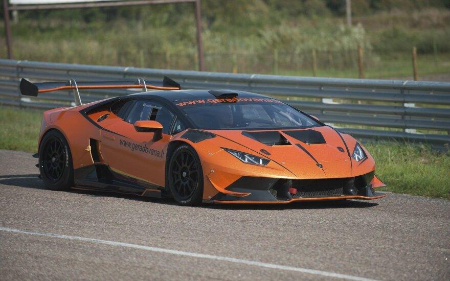 """""""Aurum 1006 km lenktynėse"""" startuos išskirtinis """"Lamborghini"""""""