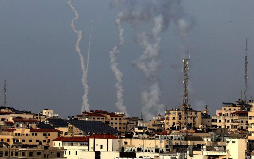"""Netanyahu: """"Hamas"""" peržengė neleistiną ribą, Izraelis """"galingai atsakys"""""""