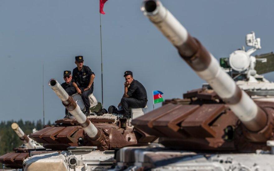 Azerbaidžano pajėgos