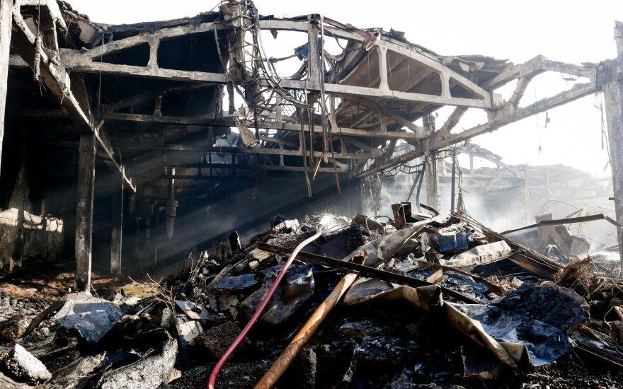 Po gaisro Alytuje aiškinsis civilinės saugos sistemos spragas
