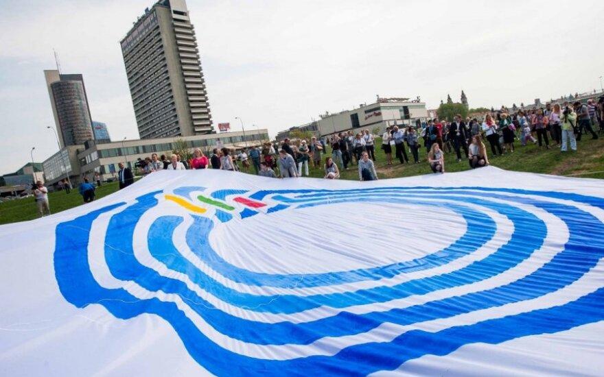 Lietuvos pirmininkavimo ES Tarybai logotipo pristatymas