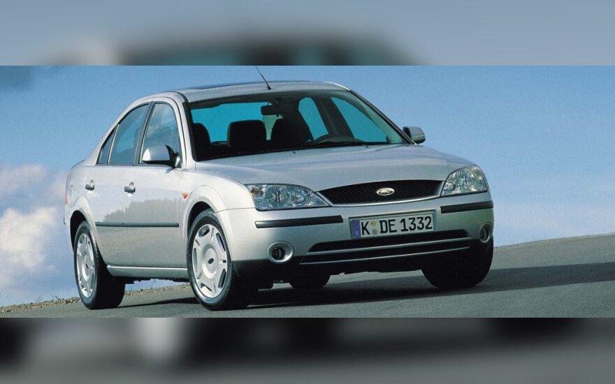 Antros kartos Ford Mondeo (2001 m.)