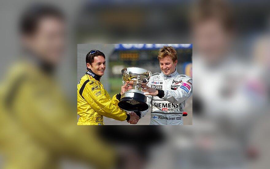 G. Fisichella ir K. Raikkonen