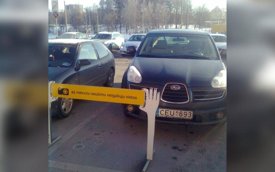 """Vilniuje, Ateities g., prie """"Mandarino"""". 2010-01-24, 11.20 val."""