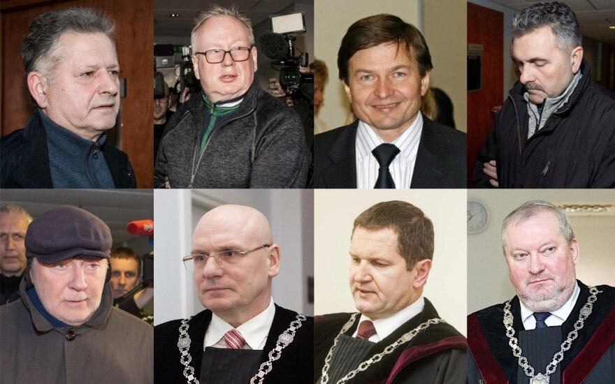 Teisėjų korupcijos byloje įtariamųjų skaičius išaugo iki 45