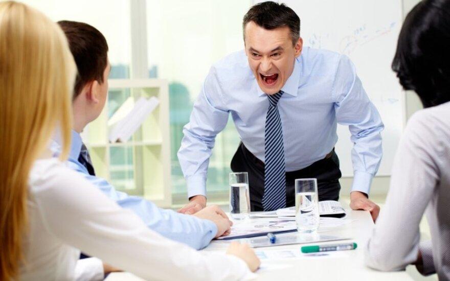 Kaip vadovo elgesys daro įtaką darbuotojų lojalumui