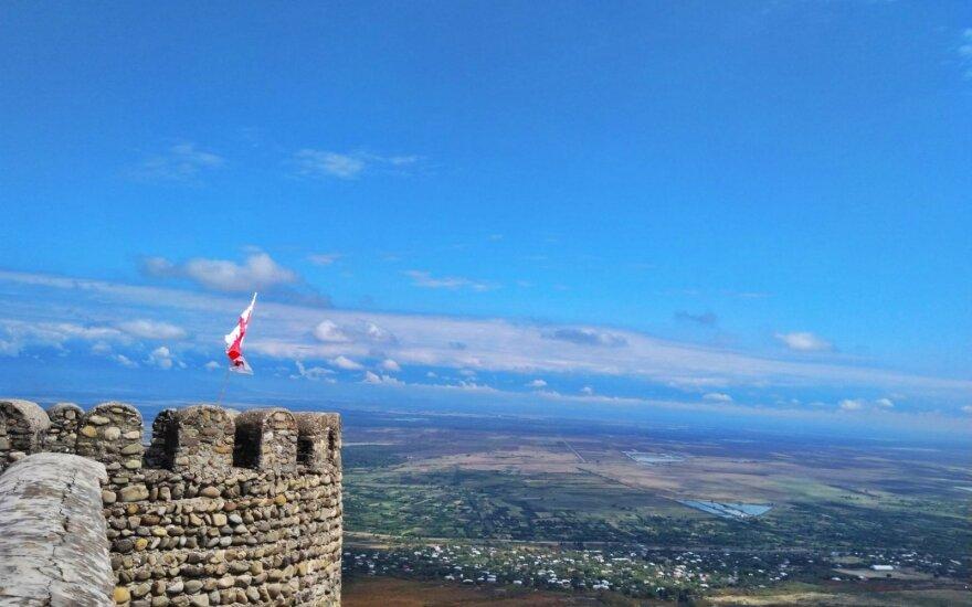 Panorama nuo gynybinio bokšto
