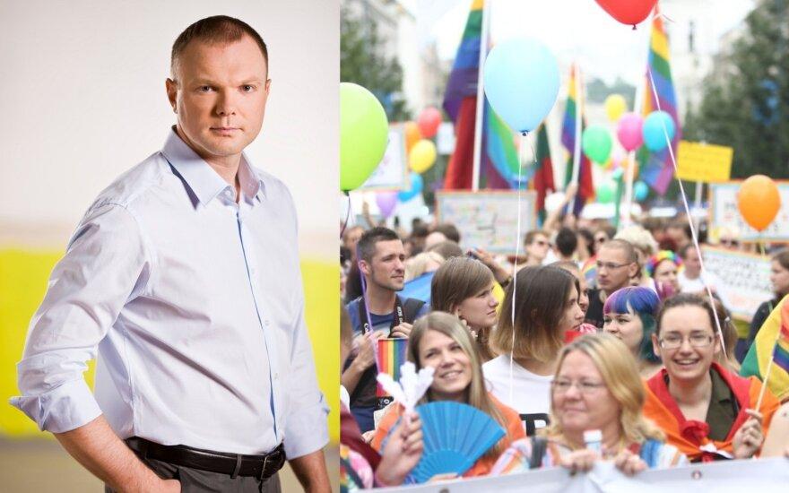 """Kritiškai įvertino Krivicko atsakomąjį renginį """"Baltic Pride"""": kokia žinutė iš tikrųjų siunčiama?"""