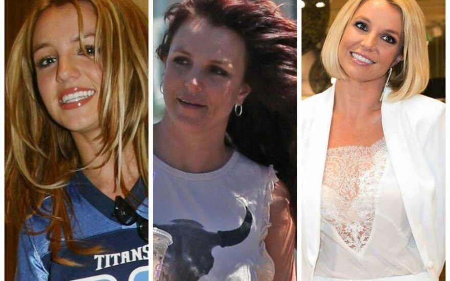 Britney Spears šukuosenų evoliucija