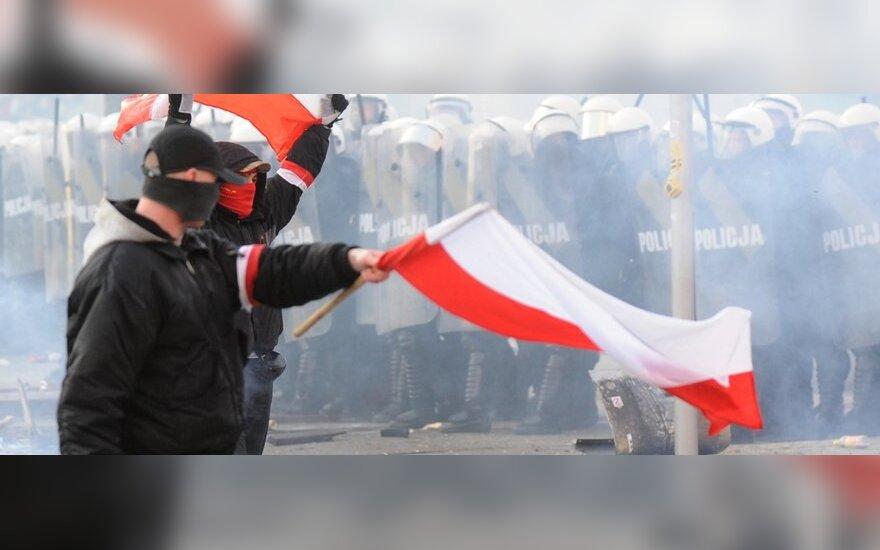 Susirėmimai Lenkijoje