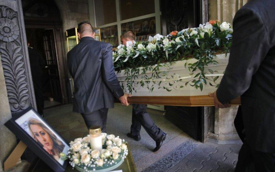 Viktorijos Marinovos laidotuvių ceremonija