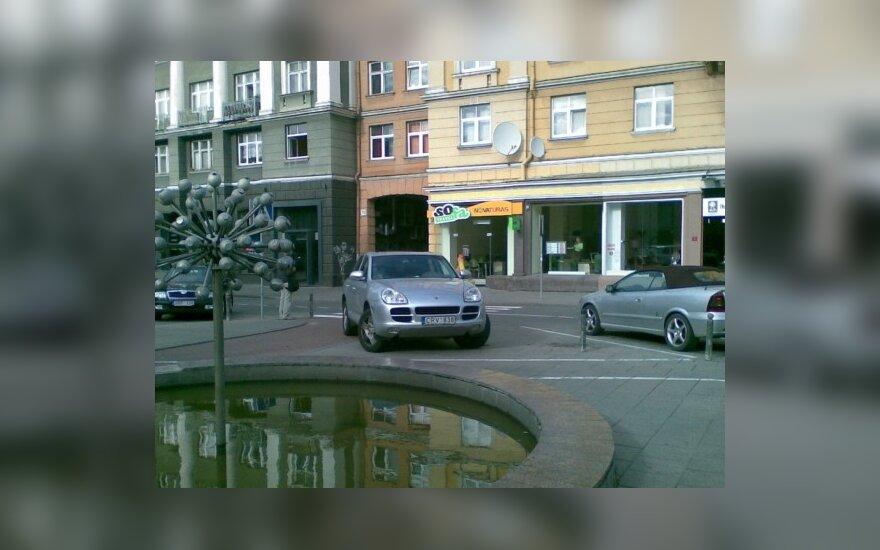 Parkavimas Vilniaus senamiestyje, Vokiečių g.