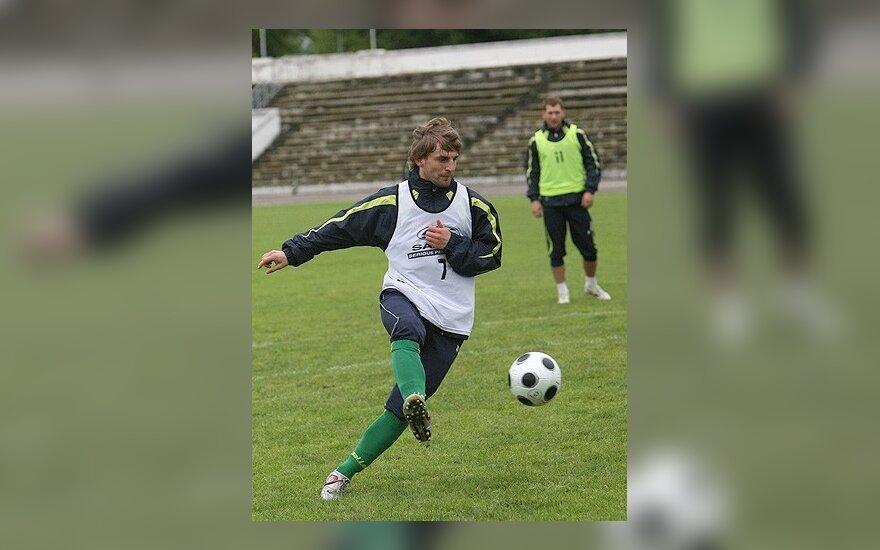 Ukrainos pirmenybėse lietuvių klubai užėmė septintą ir aštuntą vietas