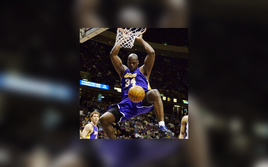 """Shaquille O'Neal """"Lakers"""""""