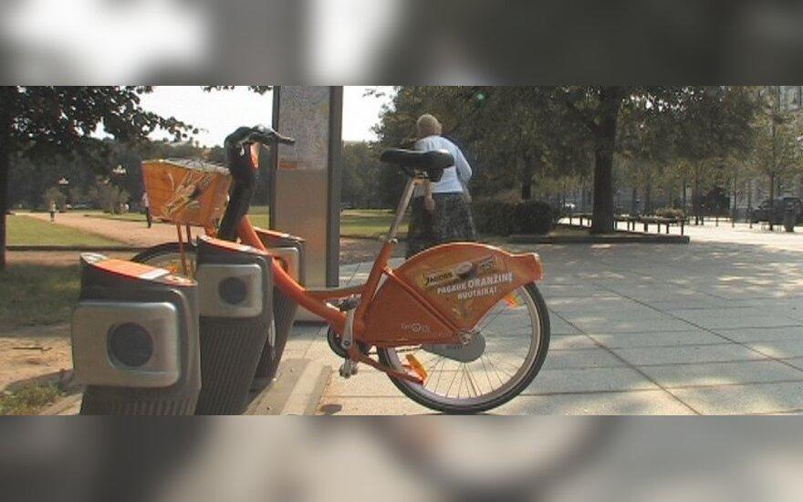 Išsigando, kad nebeveikia oranžinių dviračių sistema