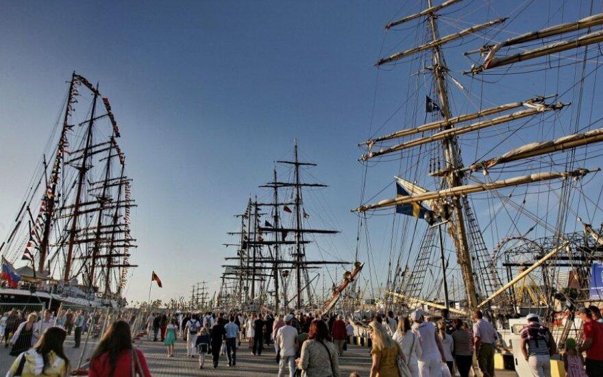 """Klaipėdoje vyksiančiam """"Baltic Tall Ships Regatta"""" startui – pirmoji piniginė injekcija"""
