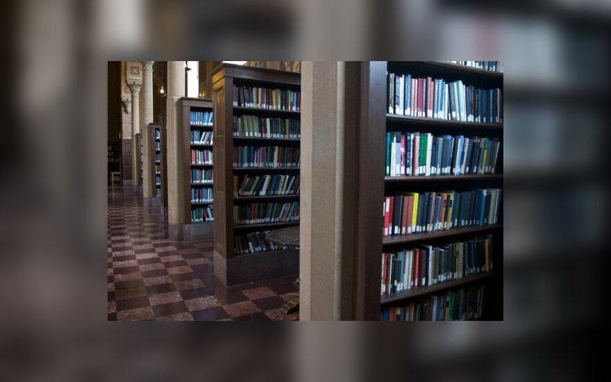 Bibliotekininkams - ministro patarimai kantriai nešti savąjį kryžių