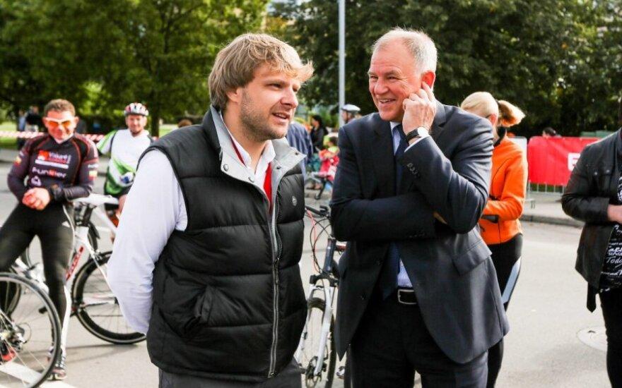 Vytenis Andriukaitis ir Benediktas Vanagas