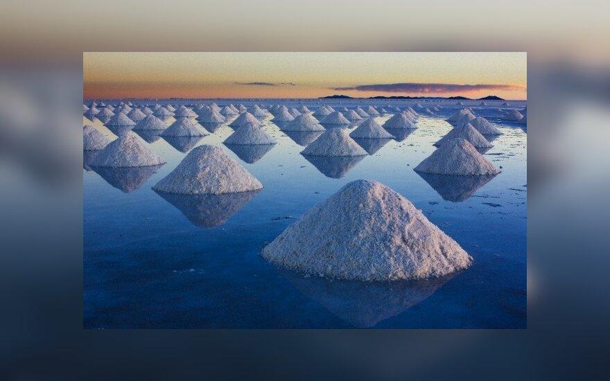 Druskos kalnai, Salar de Uyuni