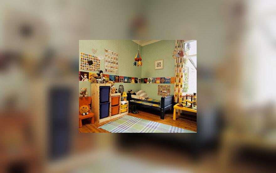 Interjeras, vaikų kambarys