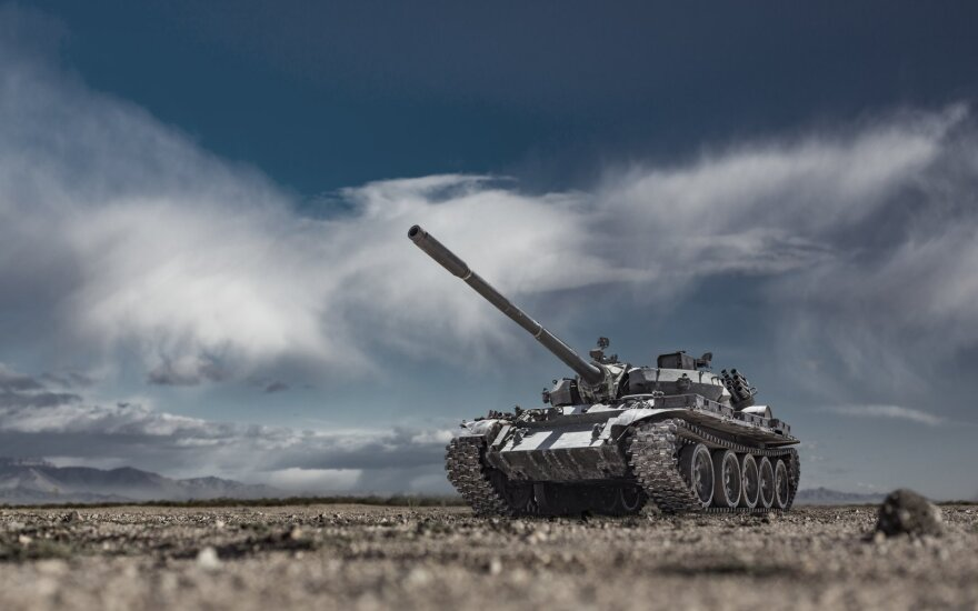 Tankas (asociatyvi nuotr.)
