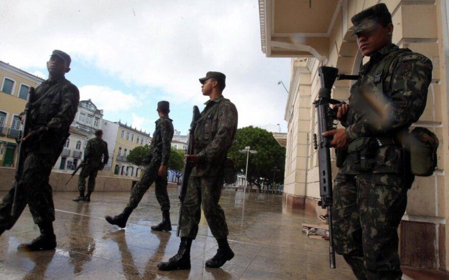 Brazilijoje ant kojų sukelta 150 tūkst. saugumo pareigūnų