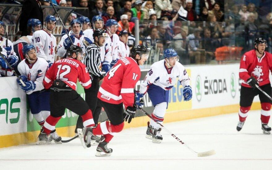Pasaulio ledo ritulio čempionatas. Didžioji Britanija – Lietuva