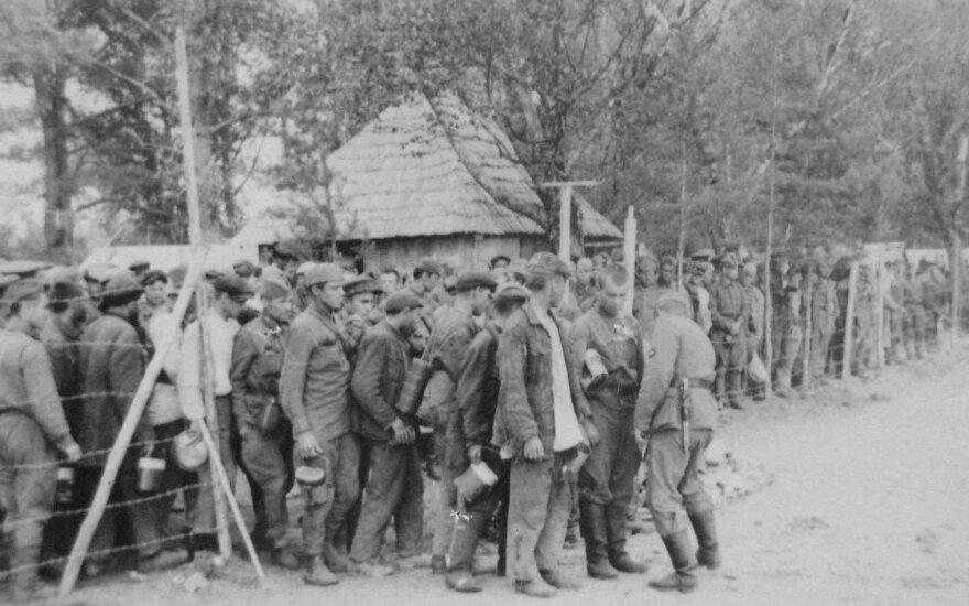 WWII German war prisoner remains exhumed in Kaunas