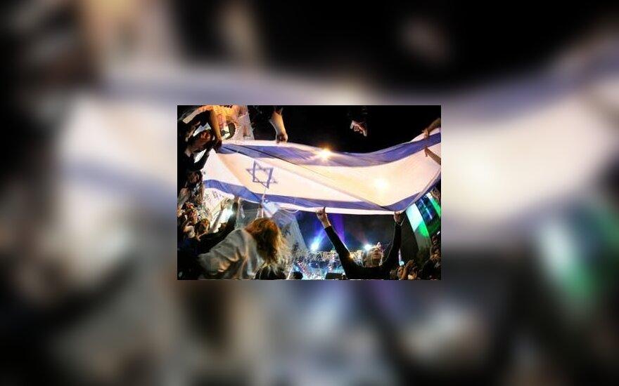 Izraelio laivai plaukiojo Irano panosėje
