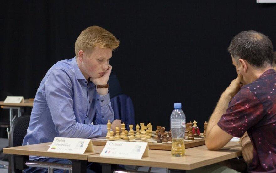 Paulius Pultinevičius (Lietuvos šachmatų federacijos nuotr.)