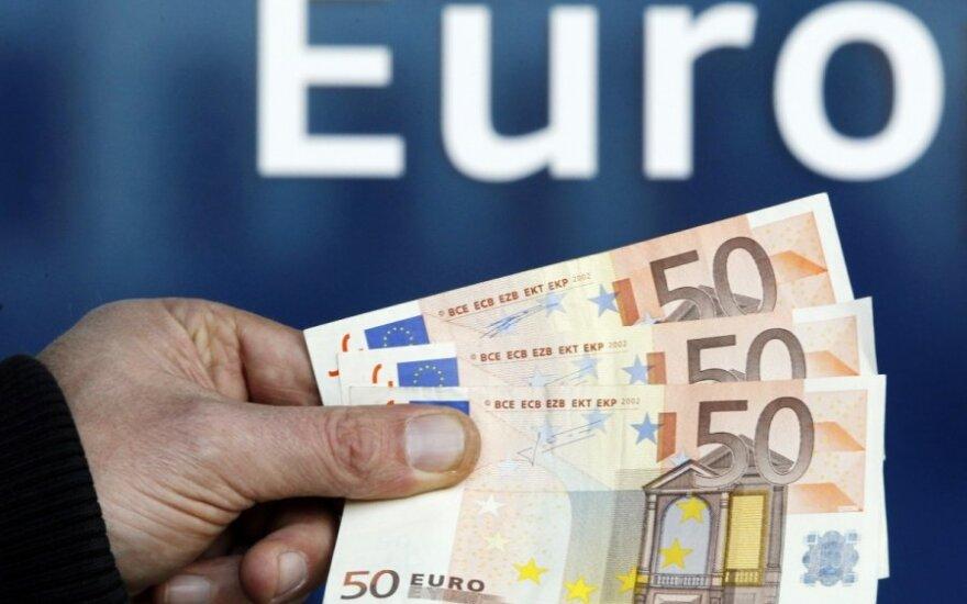 Gyventojus informuos apie eurą