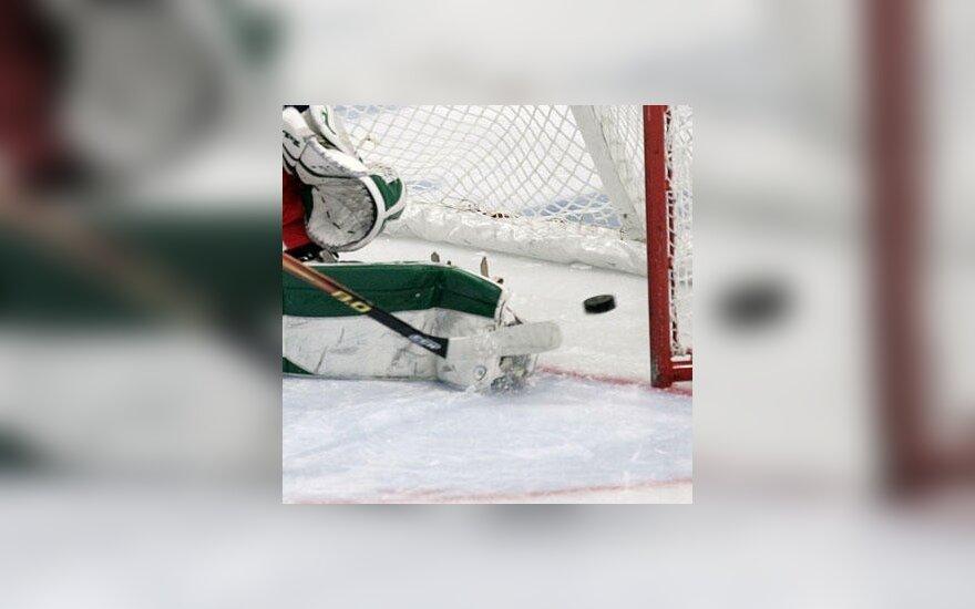 Lietuvos jaunių ledo ritulio rinktinė pasaulio čempionate užsitikrino penktąją vietą