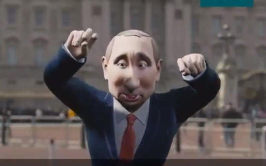 """Per BBC pokalbių laidą ves """"Vladimiras Putinas"""""""
