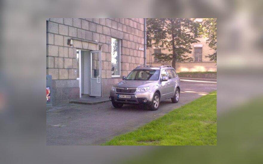 Parkavimas A.Goštauto g., Vilniuje