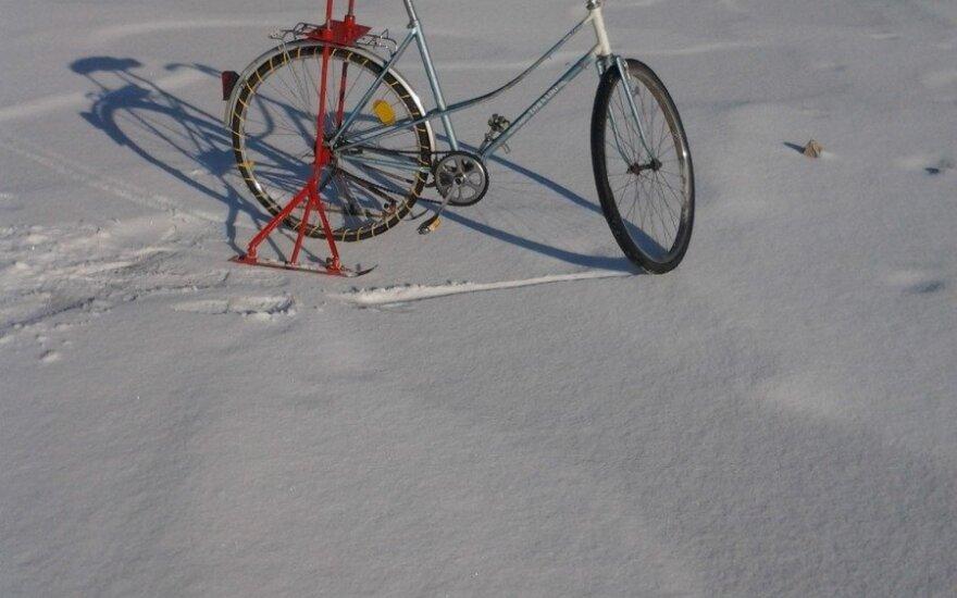 Žiemiškiems orams sukūrė unikalią transporto priemonę