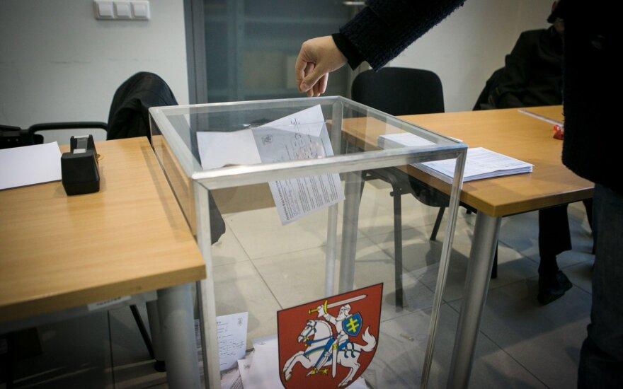 Renkant tris Seimo narius iš anksto kol kas balsavo 900 rinkėjų – mažiau nei procentas