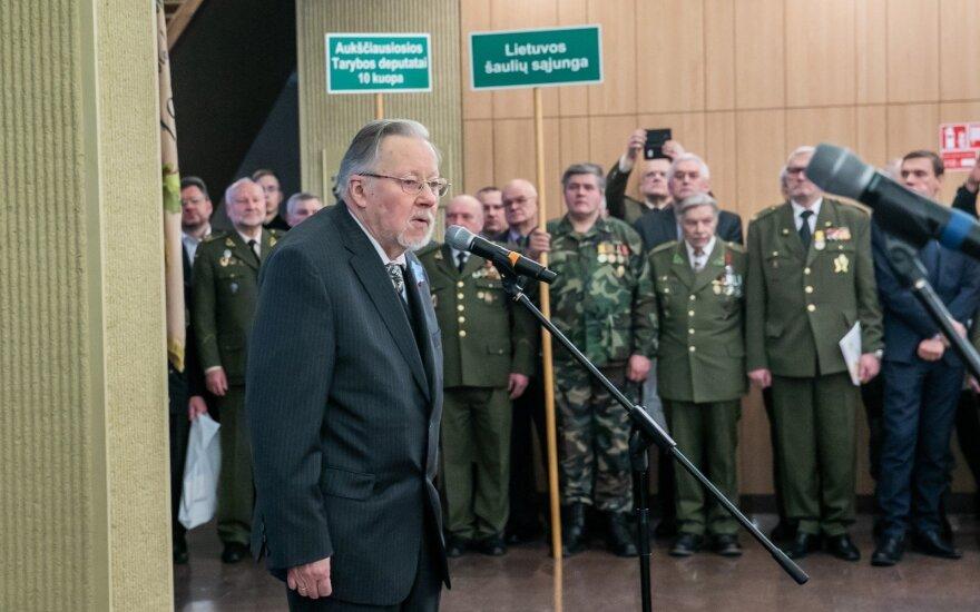 Landsbergis: užduotis Lietuvai – stiprinti savo atsparumą žemėje