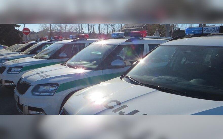 Panevėžio policijai – 17 naujų automobilių