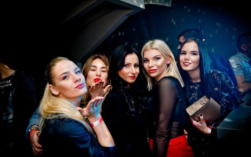 """Vakarėlis """"Mojo Lounge Kaunas"""" (Tomo Petrovskio nuotrauka)"""