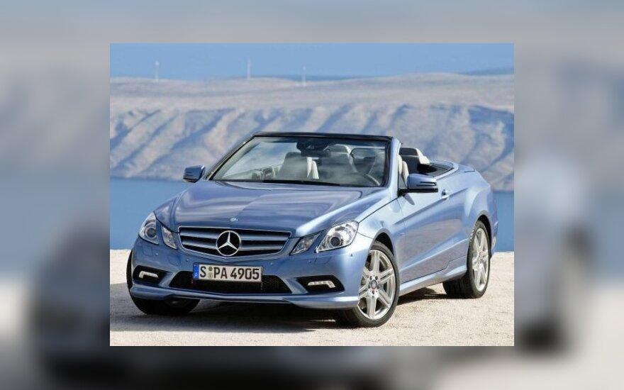 """""""Mercedes-Benz"""" E klasės kabrioletas"""