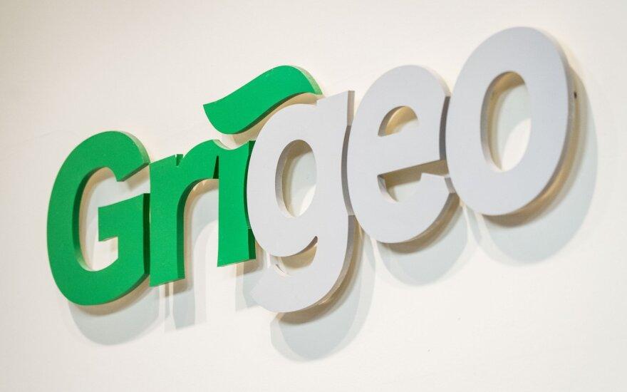 """Dar kartą stabdoma prekyba """"Grigeo"""" akcijomis"""