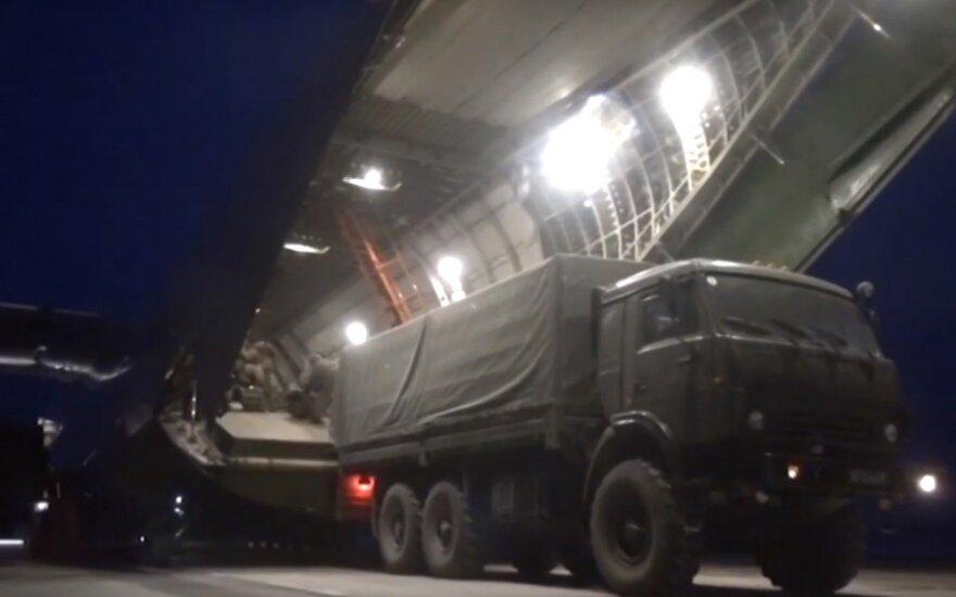 """Sibire – operacija """"Patrauk kalną"""": 11 priekabų sprogmenų, didžiulis """"An-124"""" ir keturi """"Il-76"""""""