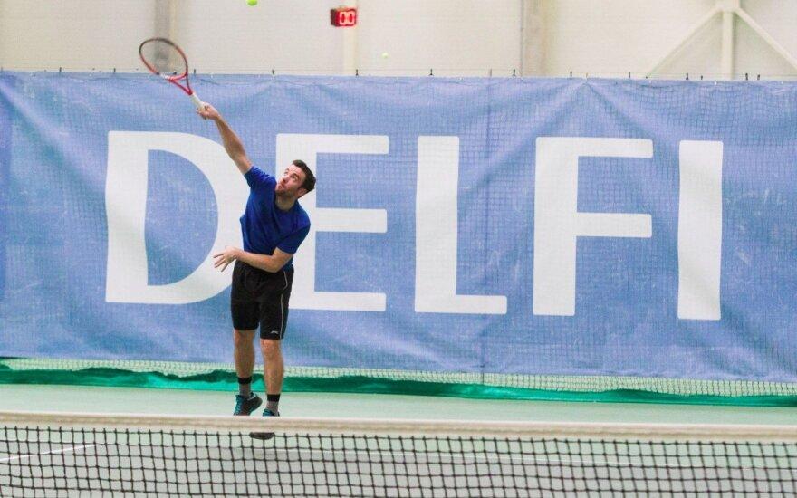 Vasaros teniso turnyrai su DELFI